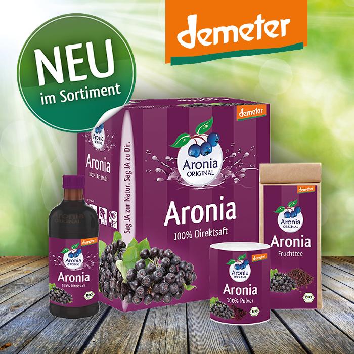 Bild: Ausgewählte Produkte in Demeter-Qualität