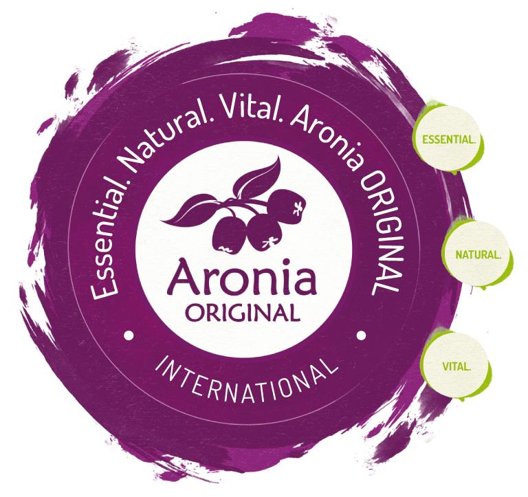 Essential. Natural. Vital. Aronia ORIGINAL.